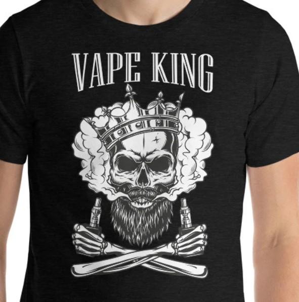 VAPE KING - VAPE SKULL TSHIRT